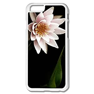 Alice7 Water Lily Case For Iphone 6,Holidays Iphone 6 Case hjbrhga1544
