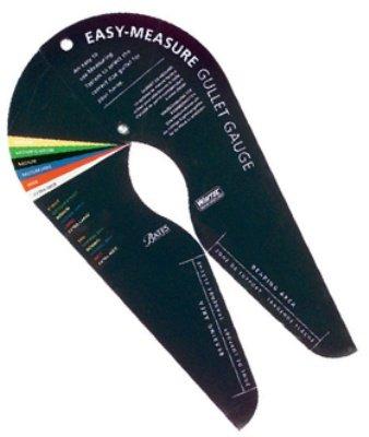 Easy Measure Gullet Gauge