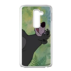 LG G2 Cell Phone Case Covers White The Jungle Book Character Akela Qtnnb