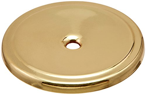 Amerock BP7603 Allison Value 1-3/4 in (44m) Diameter Polished Brass Cabinet Backplate (Brass Cabinet Polished)