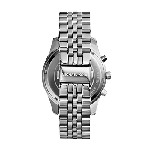 Michael Kors Men's Lexington Silver-Tone Watch MK8280