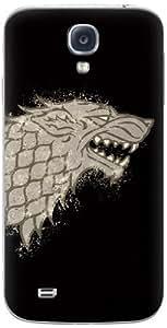 Zing Revolution Game of Thrones Premium Vinyl Adhesive Skin for Samsung Galaxy S4, Stark S2 Black (MS-GOT340456) by icecream design
