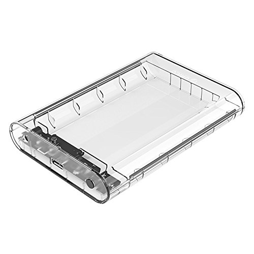 Orico transparent 3.5 inch Sata Hard Disk external portable case cover USB3.0 to Sata 3.0 HDD Case Support 10 TB
