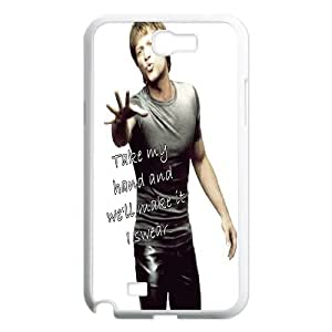 Popular Music Band Bon Jovi Pattern Productive Back Phone Case For Samsung Galaxy Note 2 Case -Style-11