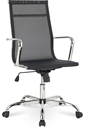 (Bonum Mesh Ergonomic Computer Desk Office Chair, Black)