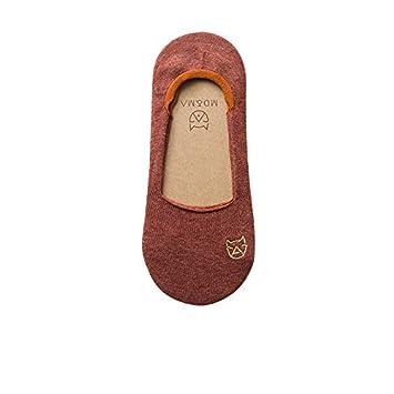 zhaoaiqin Calcetines para embarcaciones, Calcetines de algodón, Primavera y Verano para Mujeres, Calcetines