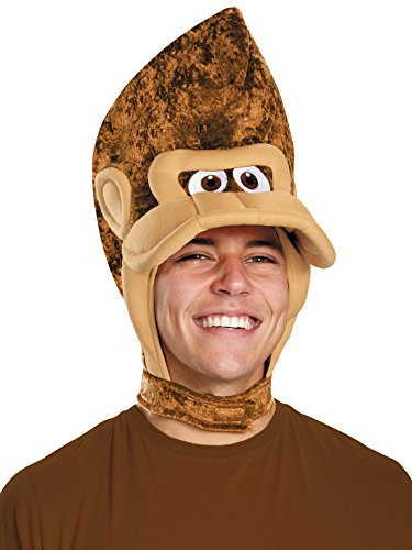 [Disguise Super Mario Brother's Donkey Kong Adult Headpiece] (Donkey Kong Costume For Women)