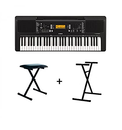 Pack Yamaha Psr E363 Banquette Stand Amazonfr