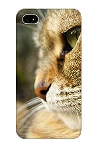 Cute High Quality Iphone 4/4s Animal Cat Case Provided By Pirntalonzi