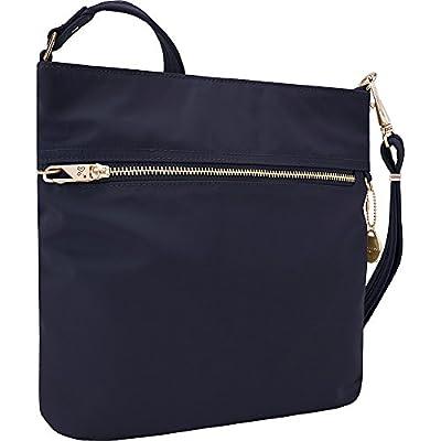 Travelon Women's Anti-Theft Tailored N/s Slim Cross Body Bag