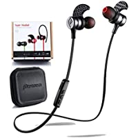 Acquisition Parasom A1 Magnetic Bluetooth Headphones, V4.1 Wireless Stereo Bluetooth Earphones Sport Headset In-Ear Noise... compare