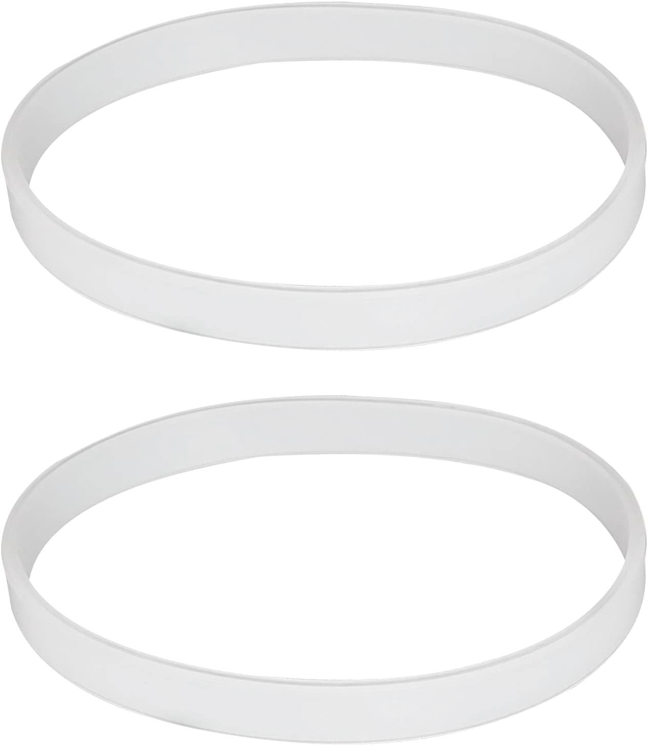 (2 Pack) Premium Blender Gaskets, Compatible with Ninja Blender Replacement Parts