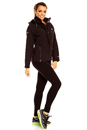 Giacche Donna Geographical Norway Tchika_womanA_black Nero Nero