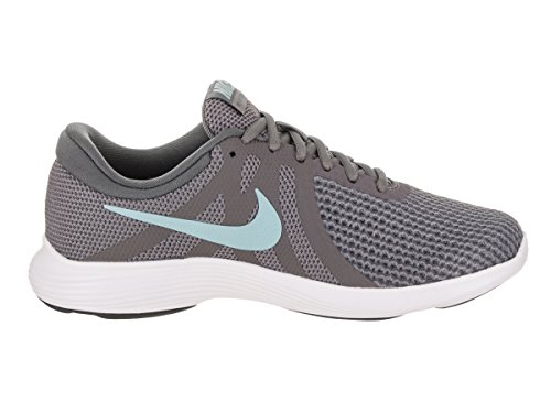Nike Womens Revolution 4 Loopschoen Gunsmoke / Ocean Bliss-dark Grey