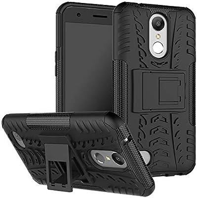 pinlu® Funda para LG K10 2017 Smartphone Doble Capa Híbrida ...
