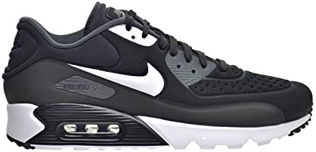nike air max 90 ultra leather trainers in black