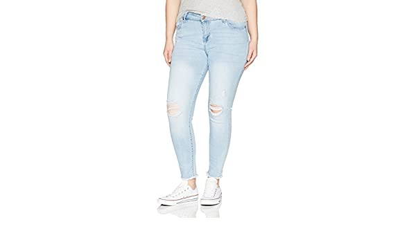 Celebrity Pink Jeans Women Plus Size White Ankle Skinny Jeans