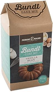 product image for Nordic Ware Vanilla Bean Bundt Cake Mix Blue, 18 oz.
