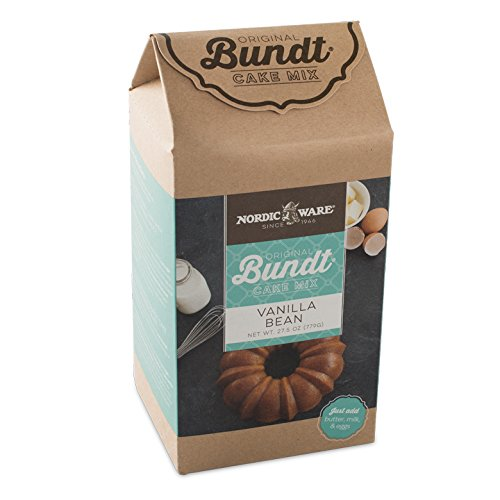 Nordic Ware Vanilla Bean Bundt Cake Mix (Chocolate Mix Vanilla Cake)