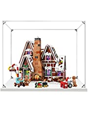 Hosdiy Acryl Vitrine Display Case voor Lego 10267 Gingerbread House - Showcase Vitrine ( Alleen Vitrine, Zonder Lego Model )