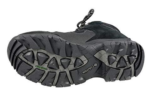 Negro Adulto Piel Senderismo Zapatillas Columbia Unisex Sportswear Vuelta De xHI0wq8R