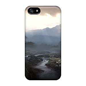 Iphone 5/5s Case Slim [ultra Fit] Battlefield Play4free Game Protective Case Cover