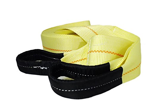 ABN Tow Strap with Reinforced Loops 3