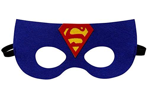 So Sydney Superhero Adult Teen Kid MASK Halloween Costume or Party Favors (Superman (Halloween Masks Sydney)