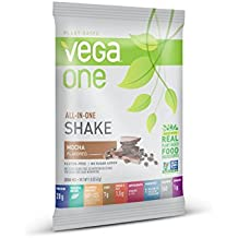 SAMPLE SIZE Vega VEG00557 All In One Nutritional Shake, Mocha, 1.5 Ounce