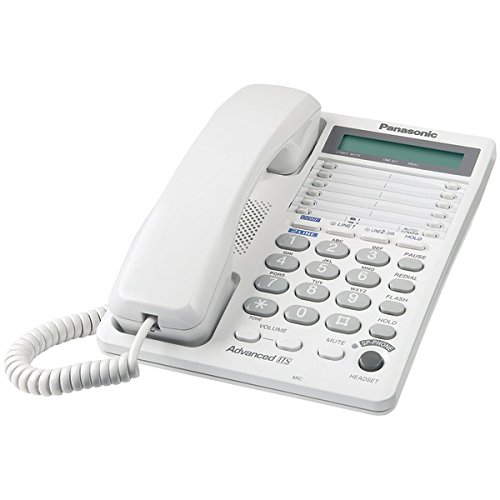 Panasonic Integrated Corded Telephone System With Hearing Aid Compatibility & 16-Digit Lcd (2-Line System)