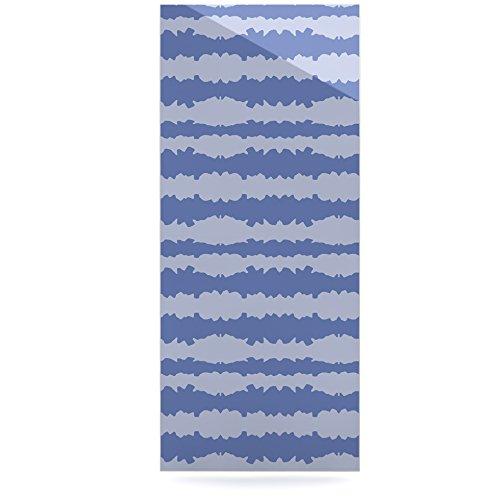 24 x 36 Kess InHouse Mydeas Nautical Breeze-Ocean Ripple Blue Aqua Luxe Rectangle Panel