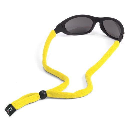 Chums Original Cotton Standard End Eyewear Retainer, Yello