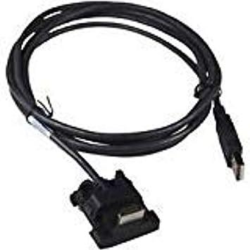 Amazon.com: Ingenico cab350948b Cable USB con alimentación ...