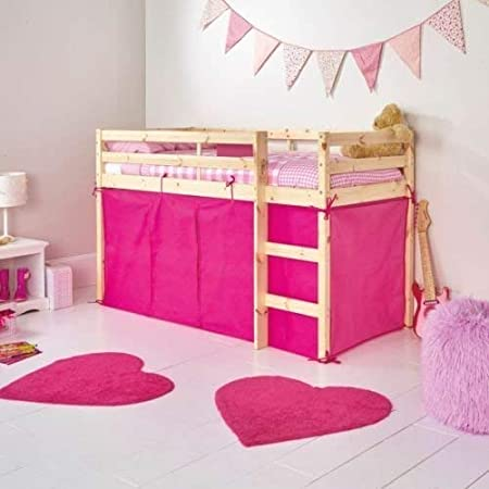 f78131f144f7 HLS Tent for SHORTY Midsleeper Bed - Pink: Amazon.co.uk: Kitchen & Home