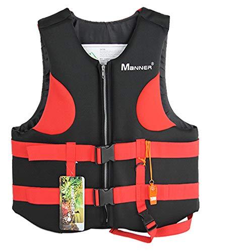 Star Human Water Sports Adult Life Jacket PFD USCG Type III Universal Boating Ski Vest with Whistle