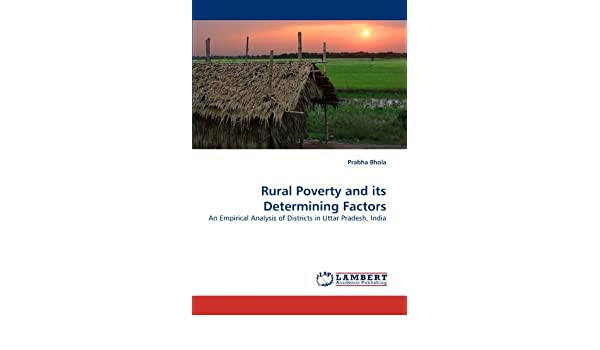 Rural Poverty and its Determining Factors: An Empirical