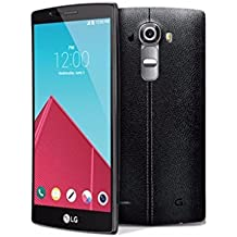 "LG G4 Unlocked 5.5"" Android Smartphone w/ 4G LTE & 16MP Camera - Black Leather (Certified Refurbished)"