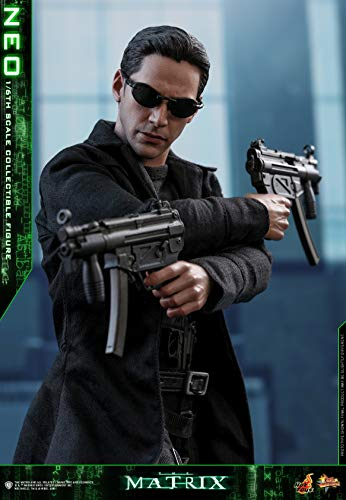Hot Toys HT The Matrix Neo Keanu Reeves Warner Bros 1/6th Scale Collectible Figures Movie Masterpiece Series Animation Comics Birthday MMS466