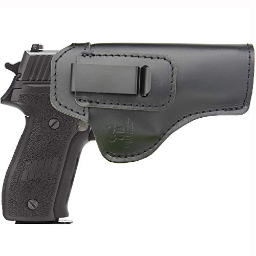 IWB Holster Leather Fits: Sig sauer P220 P226 Full Size - Inside Waistband Concealed Carry Pistols Holster -Right Hand Draw (Sig Sauer P226 Black Stainless For Sale)