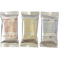 Lexmark 100C/M/Y XL (14N0684) Color High Yield Multipack OEM Genuine Inkjet/Ink Cartridge (Cyan 14N1069+ Magenta 14N1070+ Yellow 14N1071)*1 - Retail