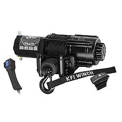 New KFI 4500 lb Stealth Edition UTV Winch & Mo