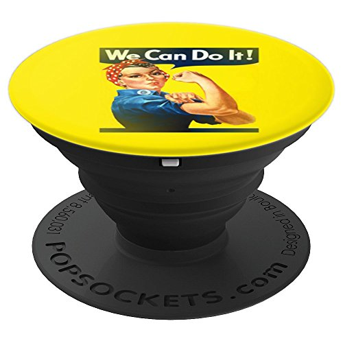 rosie the riveter - PopSockets Grip and Stand for Phones and Tablets]()