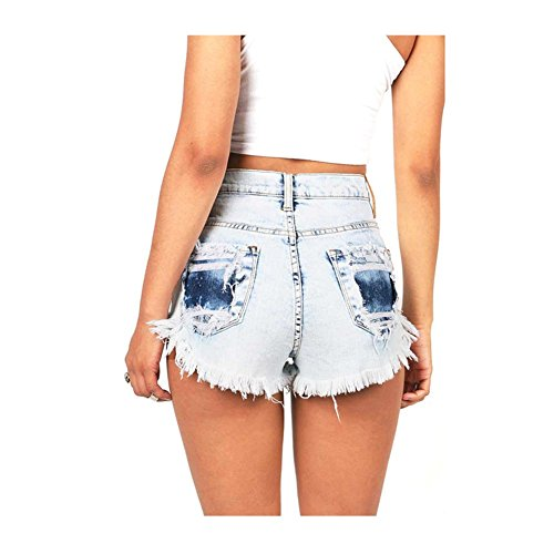 S 1 Collant Shorts Short Sexy Taille Court HautePantalon t Denim 2XL Juqilu Jean Short Femme Bermudas Casual qw6paa