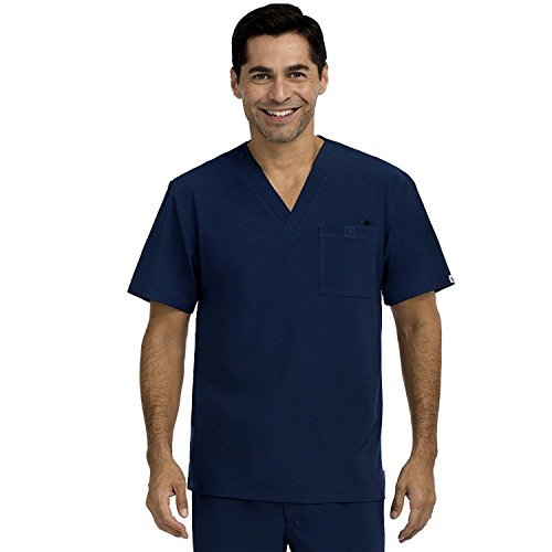 Meds Collection (Med Couture Men's 'Activate Collection' Sport Scrub Top, Navy, XX-Large)