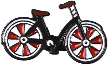 (プラスナオ) ピンブローチ ブローチ ピンバッジ 自転車モチーフ ピンズ メンズ レディース 男女兼用 男性 女性 紳士 婦人 おしゃ