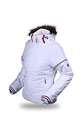 elegir la mujer chaqueta Justyne Blanco - blanco