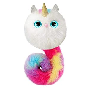 Pomsies Luna the Unicorn Plush Interactive Toys by Pomsies