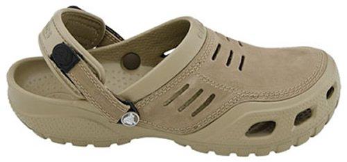 a8ccbc7dda887 crocs Men's Yukon Sport Clog,Khaki/Coffee,8 M US - Buy Online in ...
