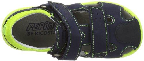 Ricosta Foma(M) - Zapatos para niños Azul (Blau (nautic/neongelb 178))