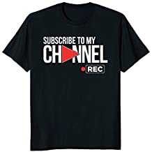 Video Sharing T Shirt for Online Streaming Content Creators